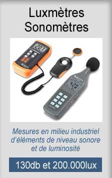Luxmetre sonometre